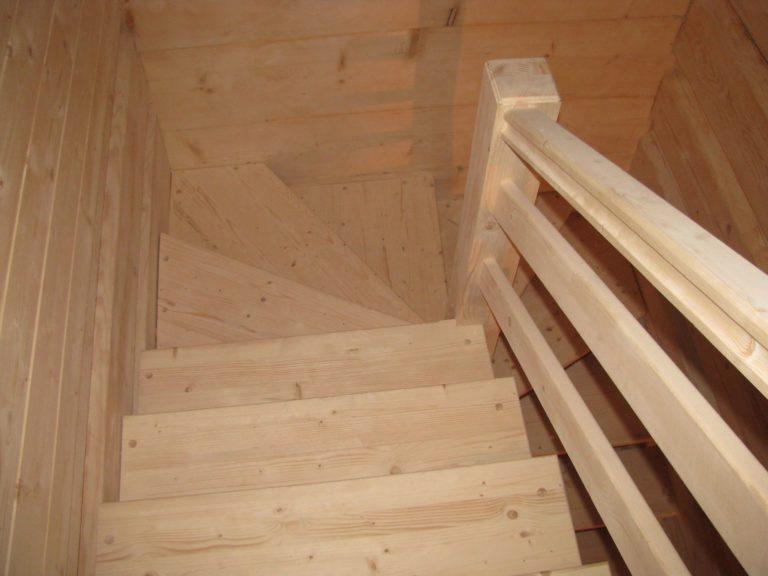 schody zdrewna