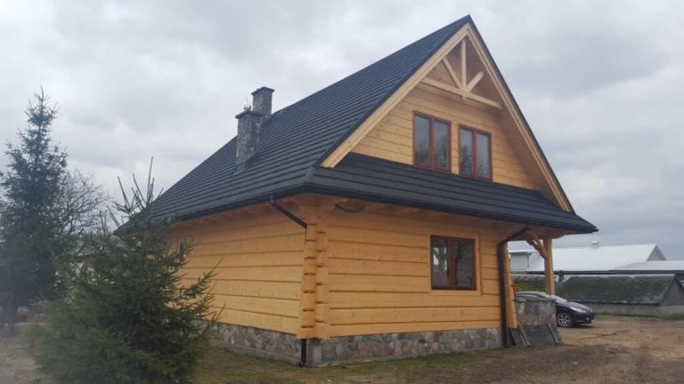 dom zbali plaskich nakamiennej podmurowce