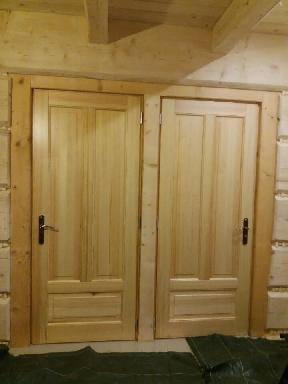 drzwi zdrewna