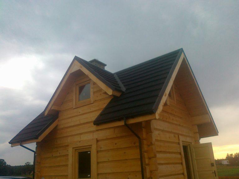 dom zplazow do35mkw - kryty gontem