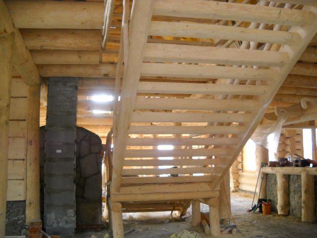 gospoda goralska zokraglych bali drewnianych